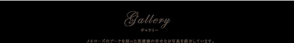Gallary ギャラリー 色とりどりの上質な花々でつくられる、メルローズの商品ギャラリーです。